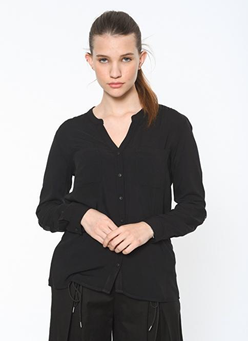 Only Uzun Kollu Gömlek Siyah